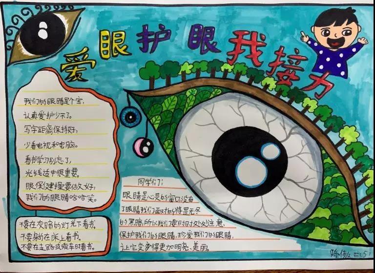 暑假如何控制、预防近视最有效?护眼思维导图来支招!